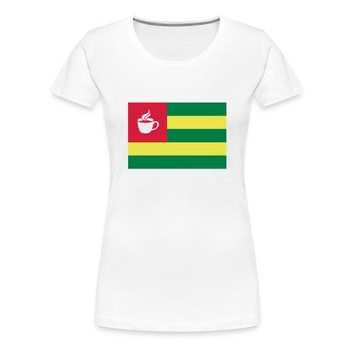 Coffee Togo - Frauen Premium T-Shirt