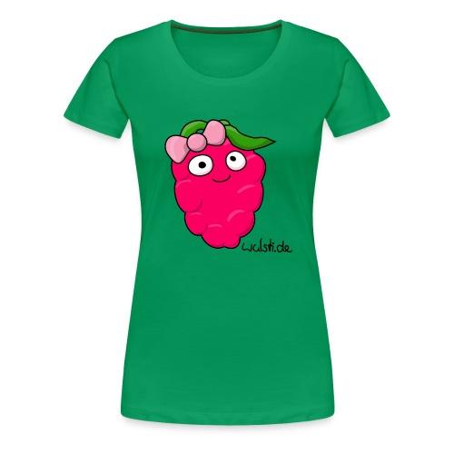 Saftina, die extrem fruchtige Himbeere - Frauen Premium T-Shirt