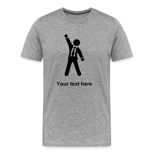 Success in Private banking - Men's Premium T-Shirt