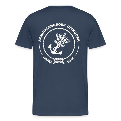 T-shirt extra groot - Mannen Premium T-shirt