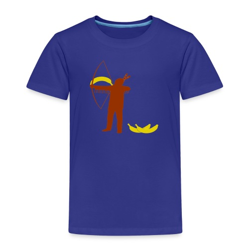 Ze schieten met bananen (kids) - Kinderen Premium T-shirt