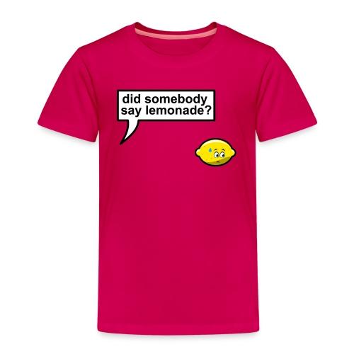 When life gives you lemons (kids) - Kinderen Premium T-shirt
