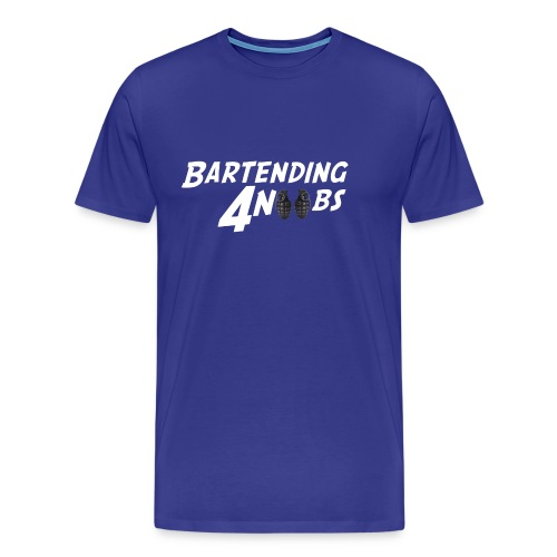 BARTENDING 4 NOOBS - Men's Premium T-Shirt