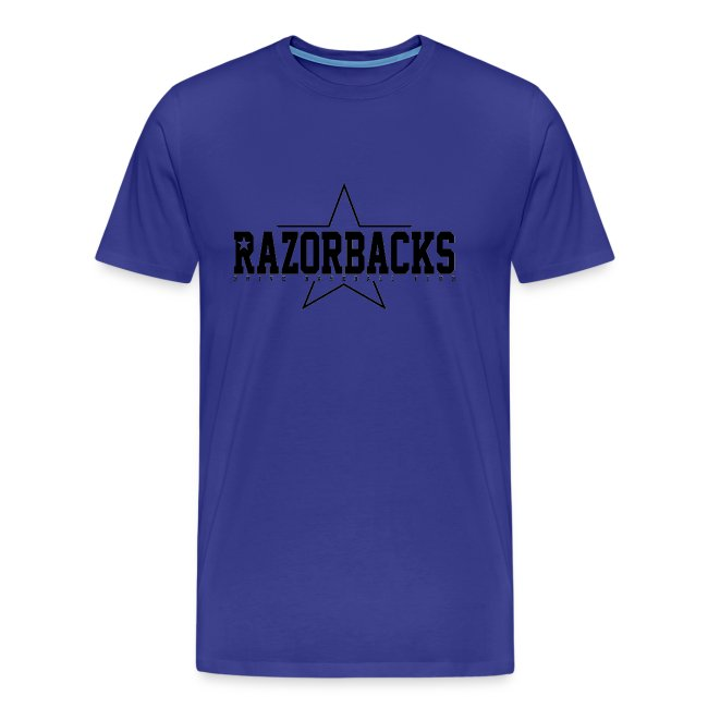 TS Razorbacks homme impression black