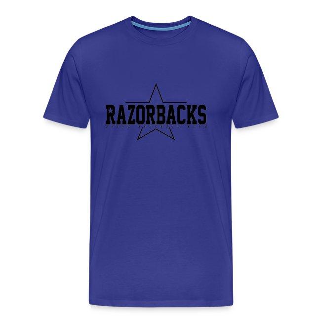 TS Razorbacks homme impression black