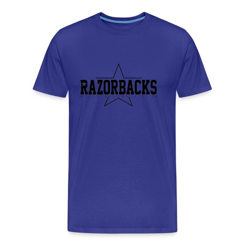 TS Razorbacks homme impression black - T-shirt Premium Homme
