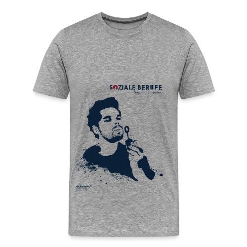 SOZIALE BERUFE kann nicht jeder (ohne Slogan) - Männer Premium T-Shirt