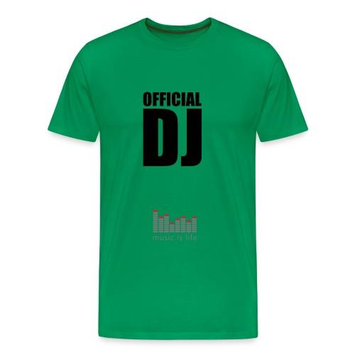 Maglietta DJ - Maglietta Premium da uomo