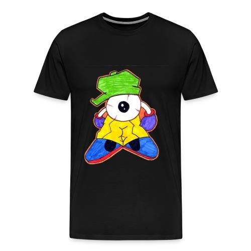 Graffiti Eye - Männer Premium T-Shirt