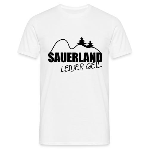 Sauerlandgeil - Männer T-Shirt