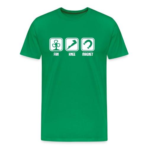 Fan Knee Magnet - fanny magnet T-shirt - Men's Premium T-Shirt