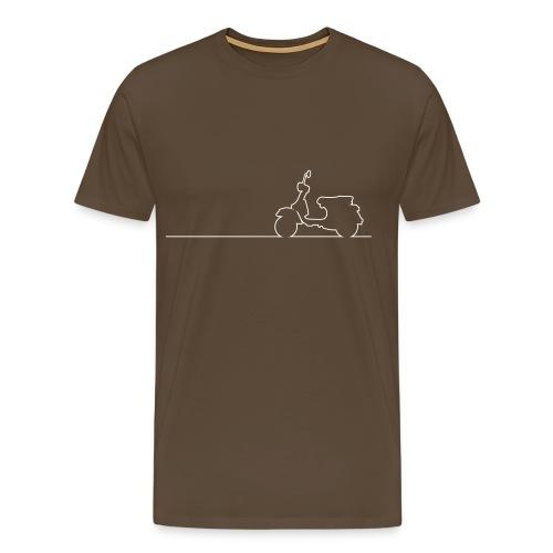 Vespa PX Linea - Männer Premium T-Shirt