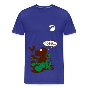 dinosaur shirt men - Men's Premium T-Shirt