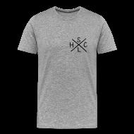 T-Shirts ~ Men's Premium T-Shirt ~ SLHC X/crest t-shirt grey