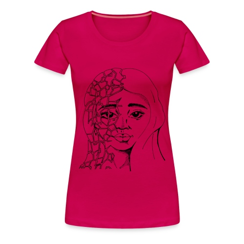 Fragile Beauty - Women's Premium T-Shirt