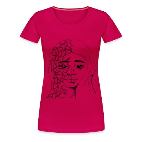 Fragile Beauty - Women's Premium T-Shirt