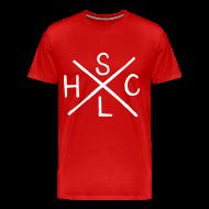 T-Shirts ~ Men's Premium T-Shirt ~ SLHC X t-shirt burgundy