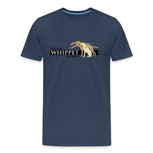 T-shirt, tryck fram. - Premium-T-shirt herr