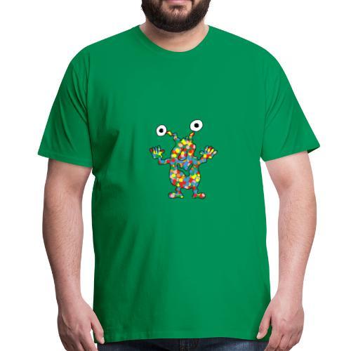 buntes Moster für den Mann - Männer Premium T-Shirt