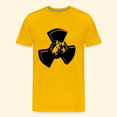 Männer T-Shirt - radioactive mouse - Männer Premium T-Shirt