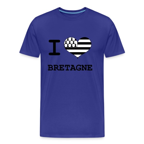 La Bretagne j'aime - T-shirt Premium Homme