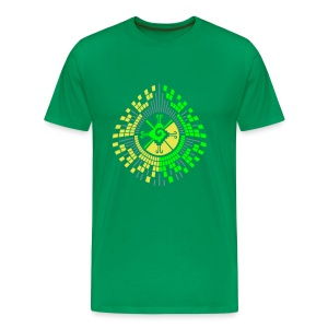 Hunab Ku DNA Tree - UV Active - Classic Men - Men's Premium T-Shirt