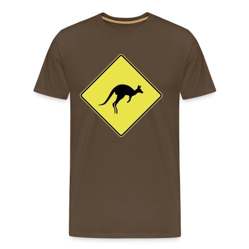 Attention kangourou - T-shirt Premium Homme