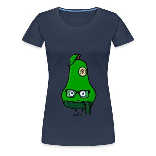 Beathe, die einzigartige Birne - Frauen Premium T-Shirt