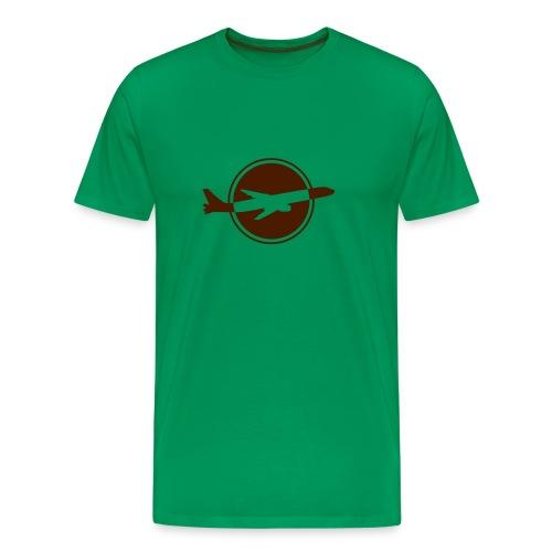 Starting Plane - Männer Premium T-Shirt