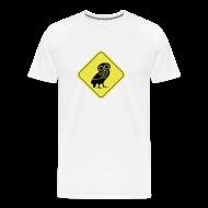 T-Shirts ~ Männer Premium T-Shirt ~ Eulen T-Shirt