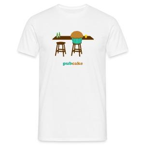 Pubcake (heren) - Mannen T-shirt