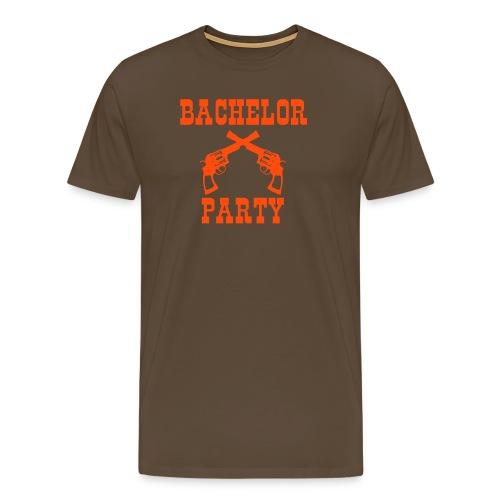 Bachelor Party Western - Männer Premium T-Shirt