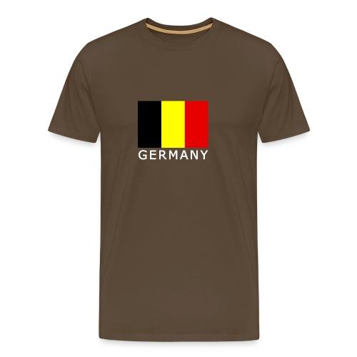 Belgisch Germany - Männer Premium T-Shirt