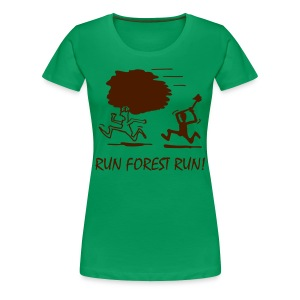 forest - Frauen Premium T-Shirt