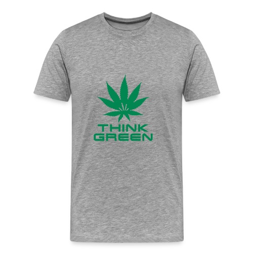 Think Green - T-shirt Premium Homme