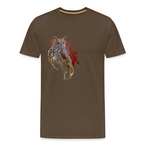 Abstract Owl Men - Männer Premium T-Shirt