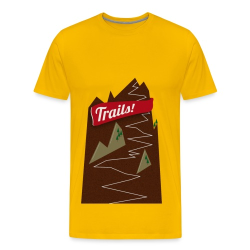 Trails! - Männer Premium T-Shirt