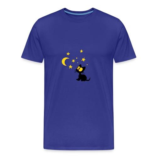 Georgie und der Mond Herrenshirt - Männer Premium T-Shirt