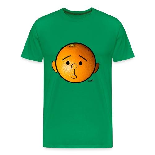Orange Head - Men's Premium T-Shirt