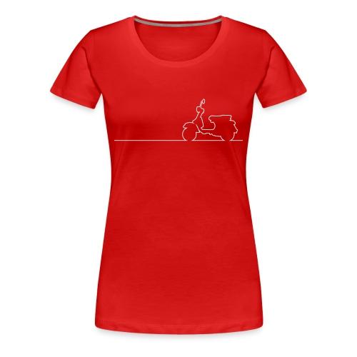 Vespa PX Linea - Frauen - Frauen Premium T-Shirt