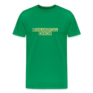 biological error - Men's Premium T-Shirt