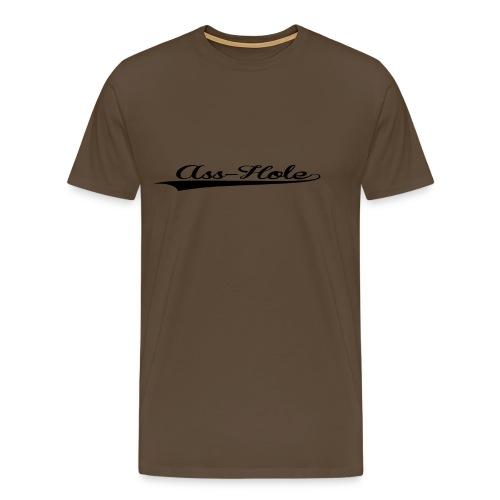 ASSHOLE T-SHIRT - Mannen Premium T-shirt