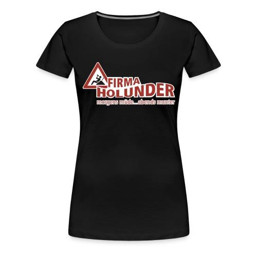 Holunder Girlie Shirt - Frauen Premium T-Shirt