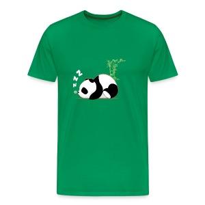 sleeping panda  - T-shirt Premium Homme