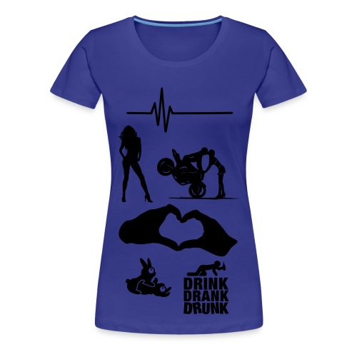 Crazy & Eccentric Damen  - Frauen Premium T-Shirt