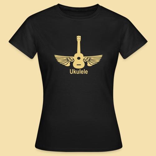 ShirtFlyingUkulele - Frauen T-Shirt