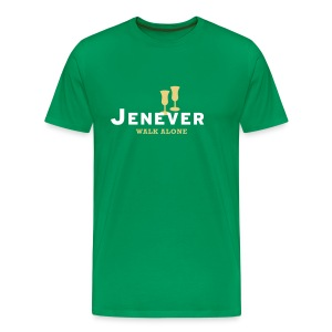 Jenever walk alone - Mannen Premium T-shirt