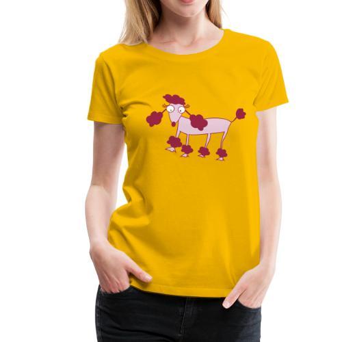 Barboncino - Maglietta Premium da donna