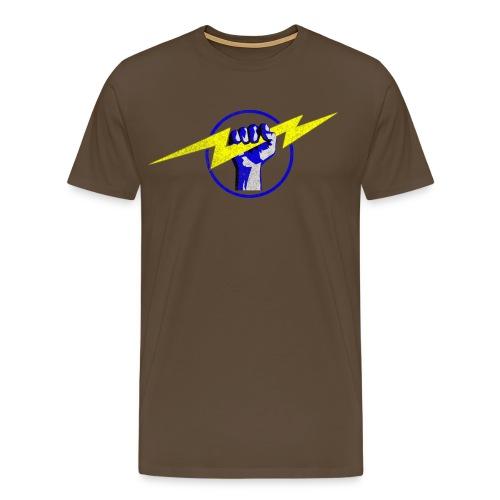 Fist & Bolt 3 - Men's Premium T-Shirt