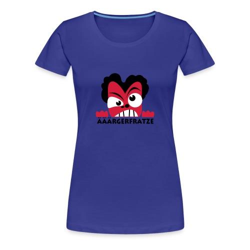 Ärgerfratze - Frauen Premium T-Shirt